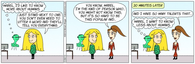 Strip 19 - 01-09-19 - More About Humans
