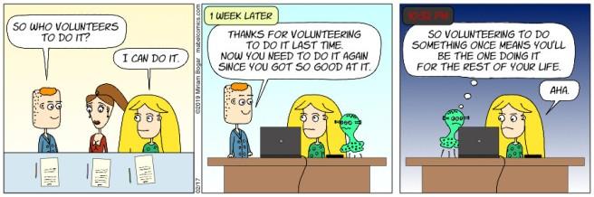 Strip 58 - 02-17-19 - Volunteer